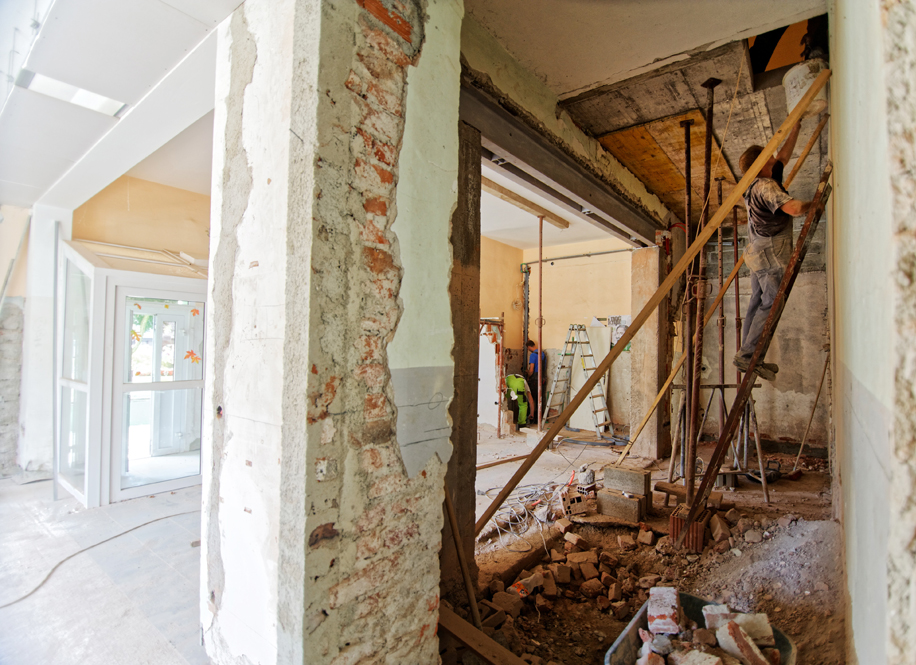 image showing a remodeling project